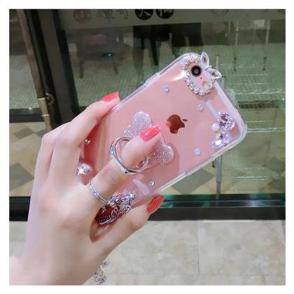 phone case!Luxury rhinestone phon..