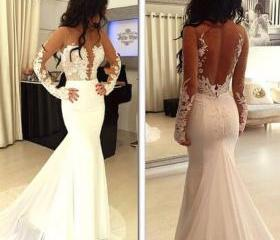 Lace Wedding Gowns,M..