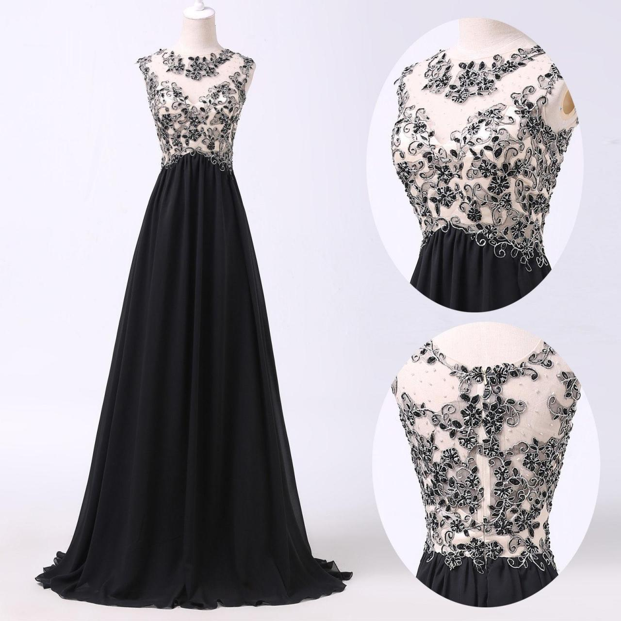 A line prom dresses black lace prom dress simple prom for Dresses to wear to a christmas wedding