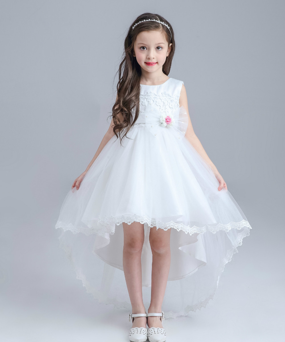 Flower girl girl dress flower girl dress for Wedding dresses for young girls