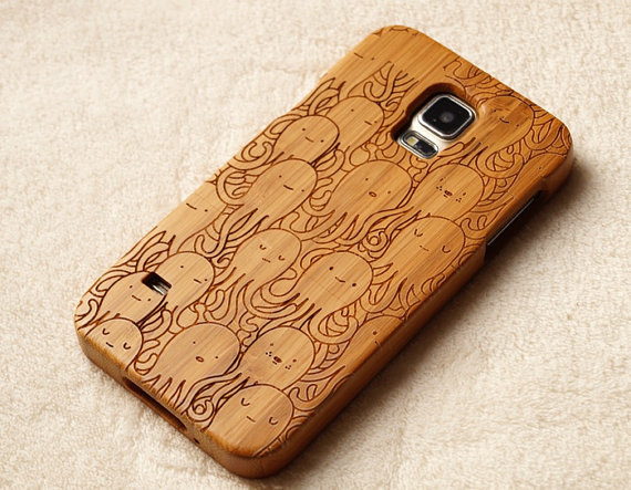 Real wood samsung galaxy s5/note4 case iphone 6 case,wood iPhone 5/5s/5C Case ,wood iPhone 6/6Plus case iPhone 4/4S case -Engraved case Gift