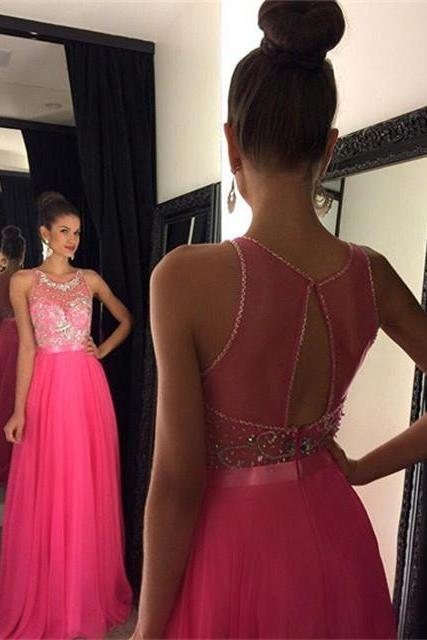 sexy Prom Dress, Beading Prom Dress long prom dress Fashion Prom Dresses Prom Dress Cocktail Evening Gown For Wedding Party