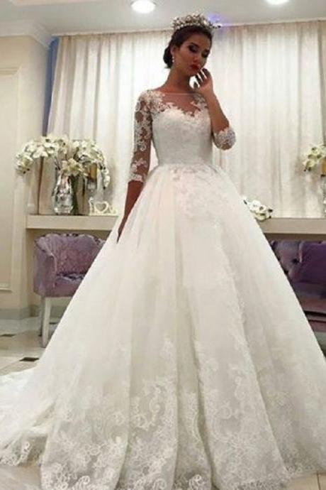 2017Wedding Dresses,Long sleeve wedding dress,Bridal Gowns,Bridal Dresse,Mermaid Wedding Dresses,Applique Wedding Dresses, Wedding Dresses,Lace Bridal Dresses,Real Photos Wedding Dresses
