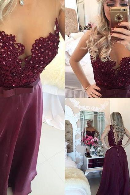 Lace Prom dresses, Backless Prom dresses, Lace Prom Dress, Backless Prom Dress, Backless Evening Dresses, Long Prom Dresses