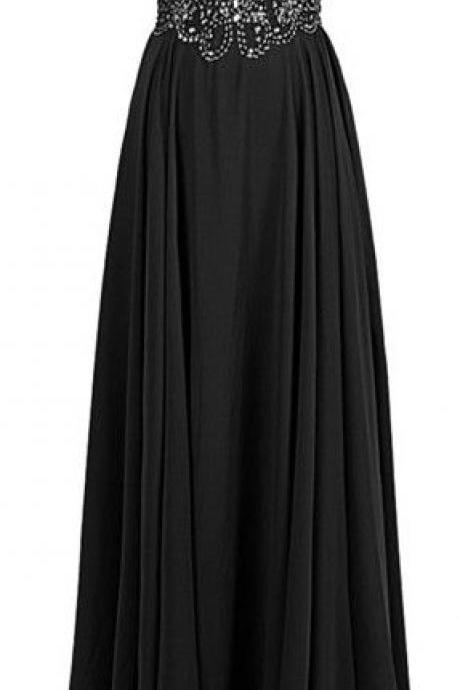 Prom Dress,Sexy Black Prom Dresses,Prom Dress,Chiffon Prom Dress,Prom Dresses,2017 Formal Gown,Party Dress,Prom Gown For Teens,Wedding Guest Prom Gowns, Formal Occasion Dresses,Formal Dress