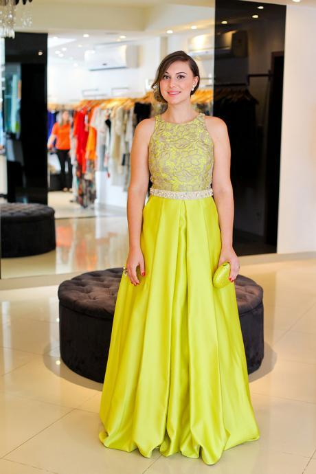 Prom Dress,Sexy Prom Gown,Yellow Prom Dresses With Lace,Sexy Evening Gowns,A Line Formal Dresses,Yellow Prom Dresses,Wedding Guest Prom Gowns, Formal Occasion Dresses,Formal Dress