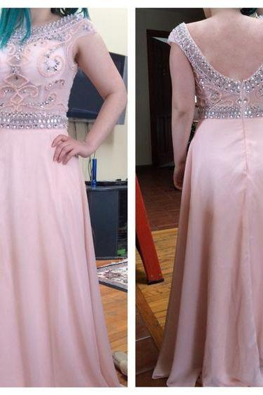 Prom Dresses,Charming Prom Dress,Chiffon Prom Dress,Beading Prom Dress,A-Line Evening Dress,Cute Cocktail Dress, Formal Occasion Dresses,Formal Dress