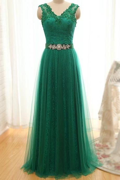 Formal Dress,Charming Prom Dress,Tulle Prom Dress,Appliques Prom Dress,A-Line Evening Dress, Formal Occasion Dresses,Formal Dress