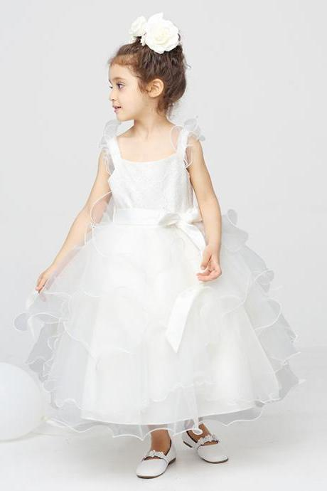 Children Dress,Flower Girls Dresses,Kids Dress,Child Clothing,Girl Brithday Party Dress,Princess Dress,Girl Party DressFlower Girls Dresses Ball Gown Organza Floor Length Girls First Communion Dress Party Dress
