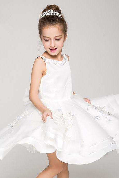 Children Dress,Flower Girls Dresses,Kids Dress,Child Clothing,Girl Brithday Party Dress,Princess Dress,Girl Party Dress,Flower Girls Dresses Ball Gown Applique Kids Girls First Communion Dress Party Dress