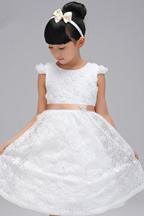 Children Dress,Flower Girls Dresses,Kids Dress,Child Clothing,Girl Brithday Party Dress,Princess Dress,Girl Party DressFlower Girls Dresses lace Applique Princess Girls First Communion Dress Party Dress