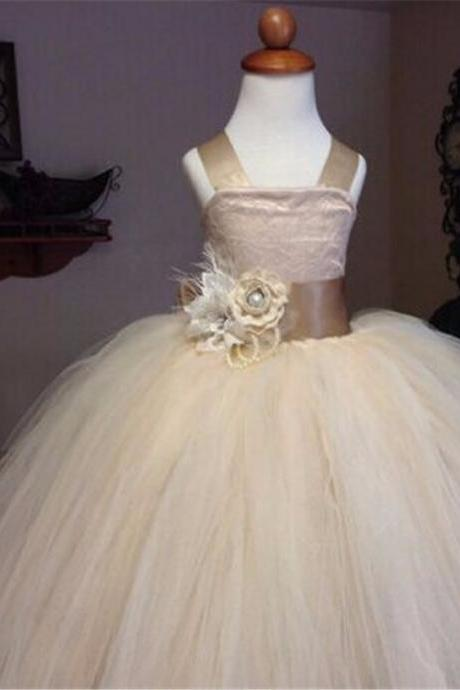 Flower girl dress.little girl dress, flower girl dress, ball gown flower girl dress, girls communion dress,girls wedding party dress,Flower GIrl Dresses.