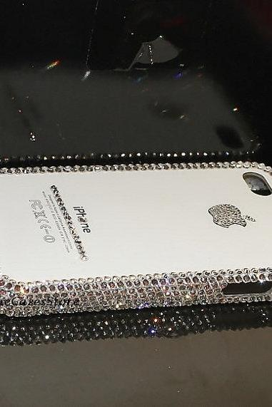Bling Bling IPhone 5/5s Case IPhone 4/4s Cover Back Case Simple Fashion IPhone Cover Handmade