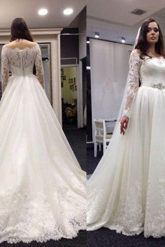 Latest design wedding dress, lace wedding dress, long sleeve wedding dress, vintage wedding dress, bride wedding gown, long wedding dress