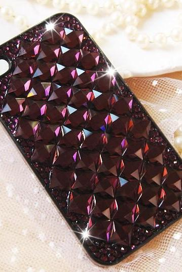 Retro brown Diamond Hard Back Mobile phone Case Cover Rhinestone Case Cover for iphone 6s case,iphone 6s plus case,iphone 6c case,iphone 5case,iphone5scase,iphone7plus case,iphone 6 case,iphone 6plus case