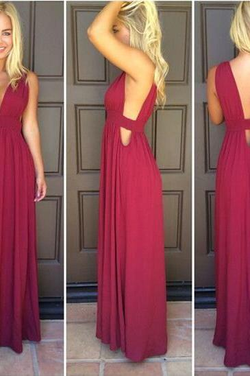 Sexy Bridesmaid Dresses,A-line Bridesmaid Dress,Chiffon bridesmaid dress,Custom bridesmaid dress, Wedding Party Dresses,Long Bridesmaid Dress,Bridesmaid Dresses,Bridal Gownsss,Homecoming Dress,