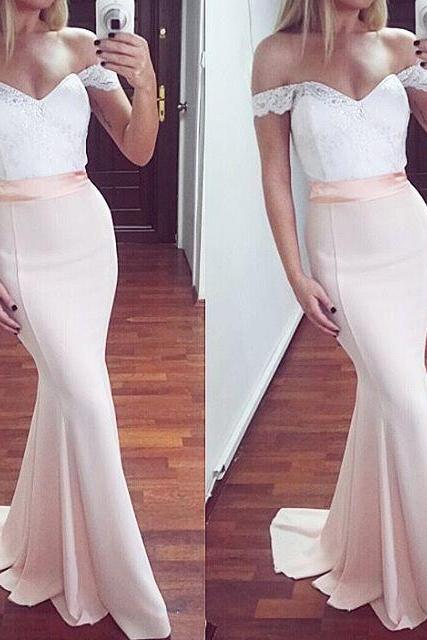Prom Dresses,Prom Dress,Off The Shoulder Mermaid Formal Gown,Prom Dress,Homecoming Dress