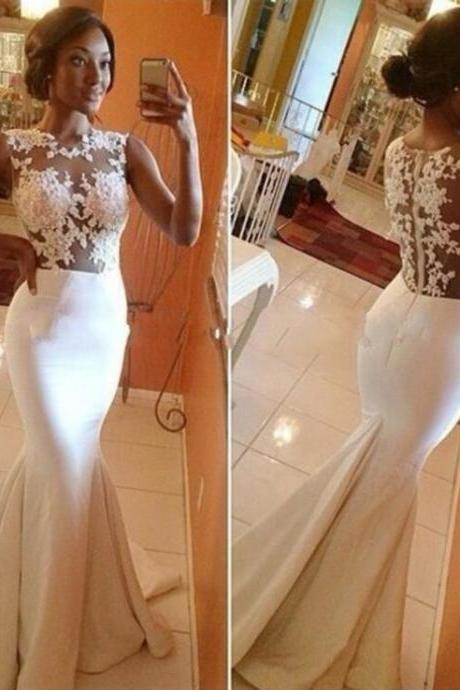 Wedding Dress,Lace Wedding Gowns,White Wedding Dresses,,Lace Wedding Gowns,Lace Bridal Dress,Princess Wedding Dress,High Low Brides Dress,Beaded Prom Dresses,Champagne Prom Gowns