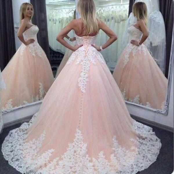 2017 Wedding DressesSweethear tWhite Lace Mermaid Wedding Dresses ,Applique Wedding Dresses, Wedding Dresses,Lace Bridal Dresses,Real Photos Wedding Dresses