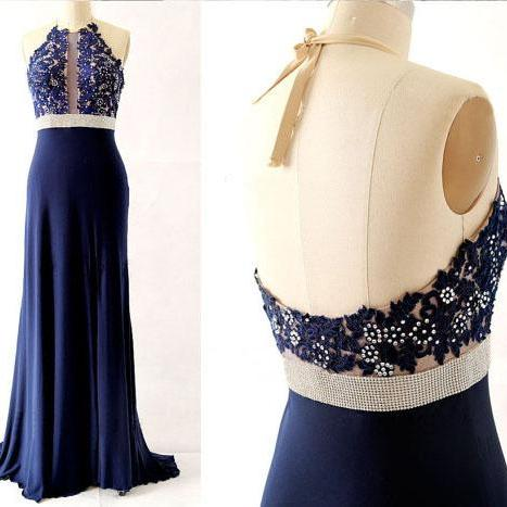 long prom dress, sleeveless prom dress, unique prom dress, halter prom dress, cheap prom dress, elegant prom dress, modest prom dress, prom gown