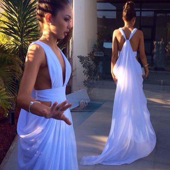 long prom dress, sexy prom dress, cheap prom dress, deep v-neck prom dress, off shoulder prom dress, unique prom dress, evening dress,